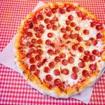 Small Cheese Pizza with One Topping <br>& 10 Wings Special